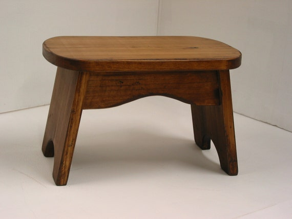 Wood step stool small kids