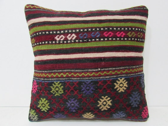 Floor Pillow Covers 25x25 : red throw pillow covers 18x18 floor cushion cover boho