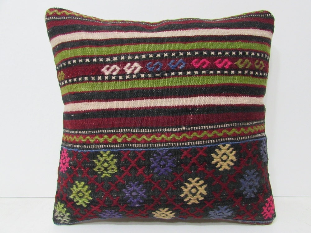 red throw pillow covers 18x18 floor cushion cover boho