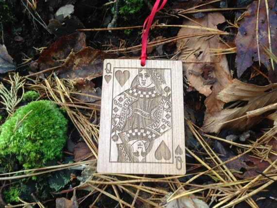 Personalized Playing Card Ornament