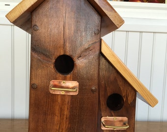 Double Peak Birdhouse