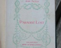 Paradise Lost by John Milton Philadelphia Henry Altemus Company