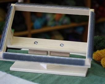 Solid Hardwood Tilting Rug Hooking Frame