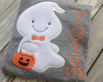 Ghost trick or treating shirt/Halloween/Ghost/trick or treat