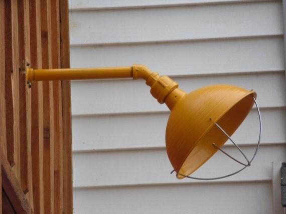 Handmade Wall Light Fixtures : Items similar to custom colored light fixture sconce