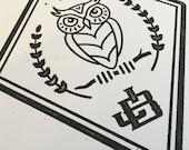 Night Owl Print