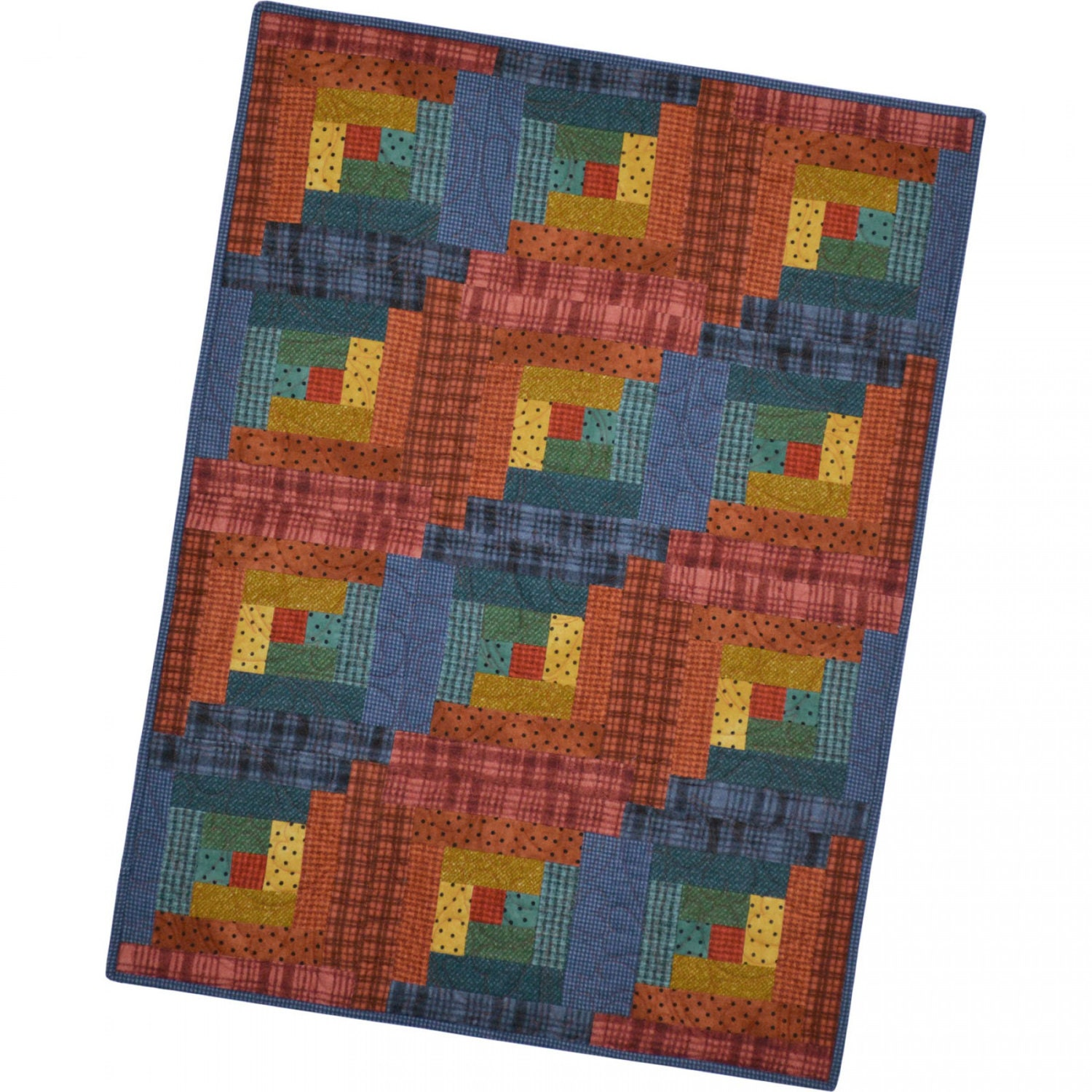 Maywood Woolies Colors Sunrise Precut Flannel Fabric Quilt