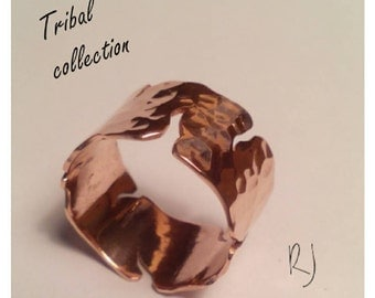 Wide copper fracture ring