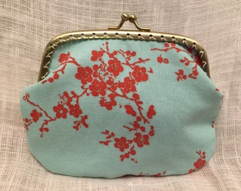 Large Cherry Blossom Coin Purse