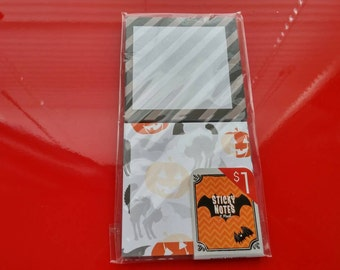 Pack of 2 Halloween sticky notes