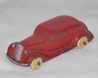 Antique 1930's Toy Rubber Car