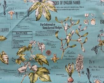 SALE! Yuwa- Botanical Print in Blue