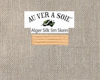 Kreinik - Au Ver A Soie - Soie d'Alger - Color 2621S - Rust Very Light - 5.5 Yards - By the Skein