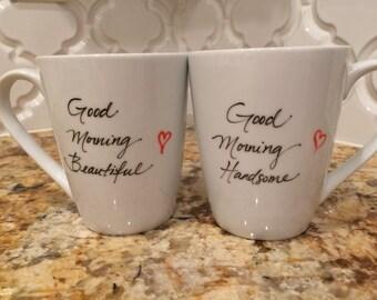 Good Morning Beautiful Handsome Mug