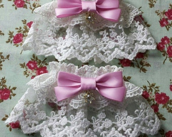Rose Princess Lolita Wrist Cuffs for Sweet or Classic Style
