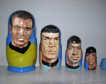 Star Trek nesting doll