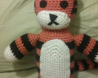 Hobbes-Inspired Crochet Plushie