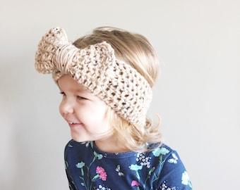 The annie earwarmer, baby headband earwarmer, trendy kids headband earwarmer - warm-soft- spring headband accessory custom headband