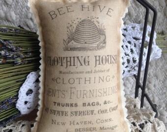 Lavender Door Hanger - Door Knob Pillow, Lavender Sachet,