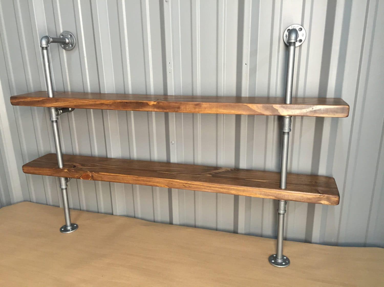 Kitchen shelves pipe | Etsy