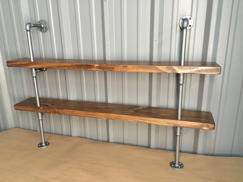 Industrial Kitchen Shelf Pipe Shelving Unit For Kitchen