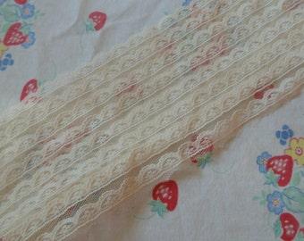 Vintage Off White Lace Vintage Lace Trim Sewing Lace