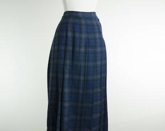 1950's Pendleton Tartan Skirt