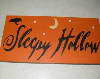 Sleepy Hallow Sign