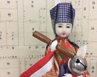 Antique Japanese Doll