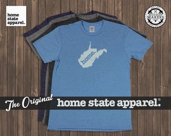 West Virginia Home. shirt- Men's/Unisex
