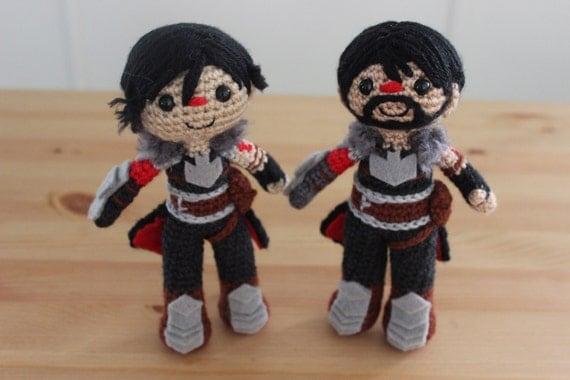 Dragon Age Amigurumi : Marian Hawke Amigurumi Crochet Plush Doll Pattern from ...