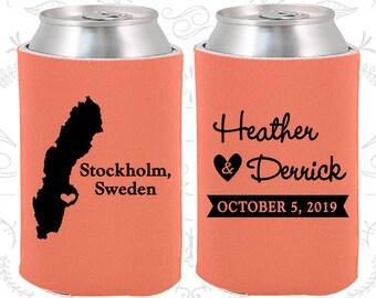 Sweden Wedding Ideas, Coolies, Destination Favors, Sweden Gifts, Sweden Wedding, Stockholm Gifts, Travel Gift (195)