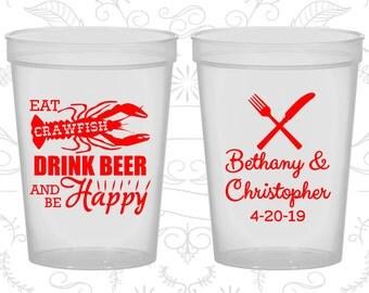 Natural Stadium Cups, Natural Cups, Natural Plastic Cups, Natural Party Cups, Natural Wedding Cups (332)