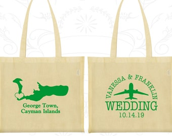 Cayman Islands Tote Bags, Cayman Islands Wedding, Printed Cotton Canvas Tote, Welcome Tote Bags, George town Tote Bags (196)