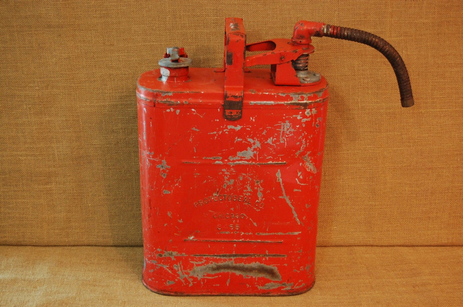 Vintage 1940 S Gas Can Vintage Protectoseal Co Chicago