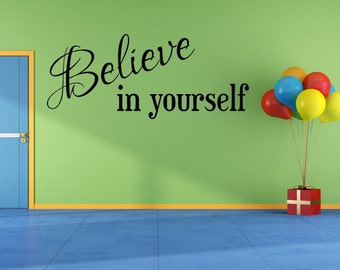 Motivation Wall Decal - Gym Wall Decal