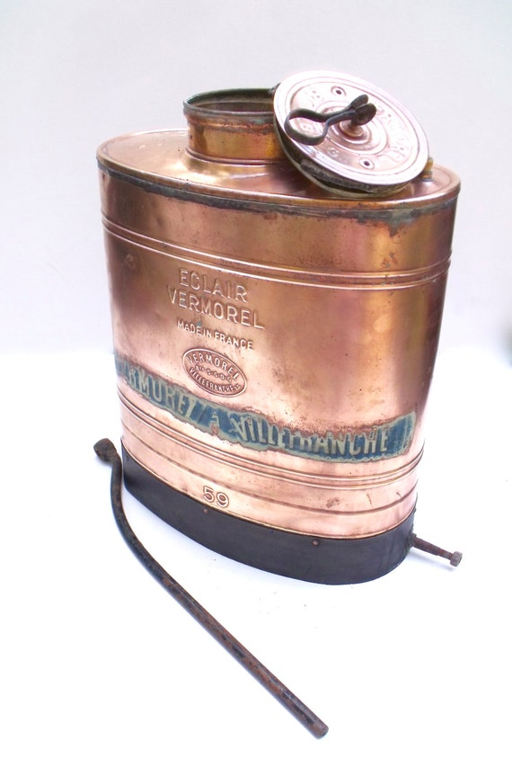Antique Copper Backpack Spray Eclair Vermorel Villefranche