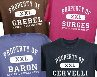 Personalized Property Of Shirt