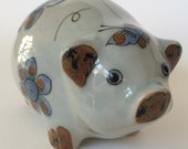 Mexican Art Pottery Pig