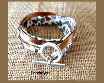 Bracelet liberty anjo brown