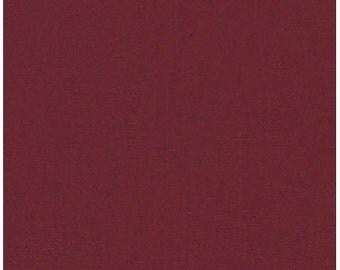 Robert Kaufman KONA Crimson 100% Cotton Fabric Color #K001-1091