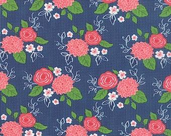 Gooseberry Midnight Bouquet Yardage by Moda SKU# 5010-17