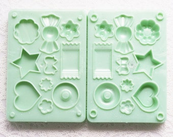 Candy, Pudding Clay Mold