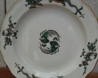 Meissen Green Dragon MSSDRAG Luncheon Plate