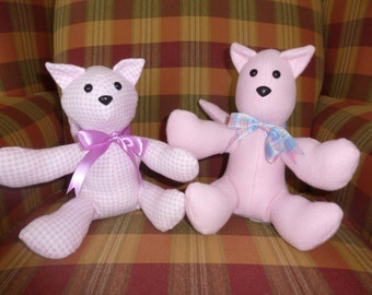 Sale!/Pink Cat Stuffed Animal/Classic Vintage Style Toy/Kitten Stuffed Toy/Pink Cat Plushie/Gift for Child/Ready to Ship/Kitty/Cat Plush