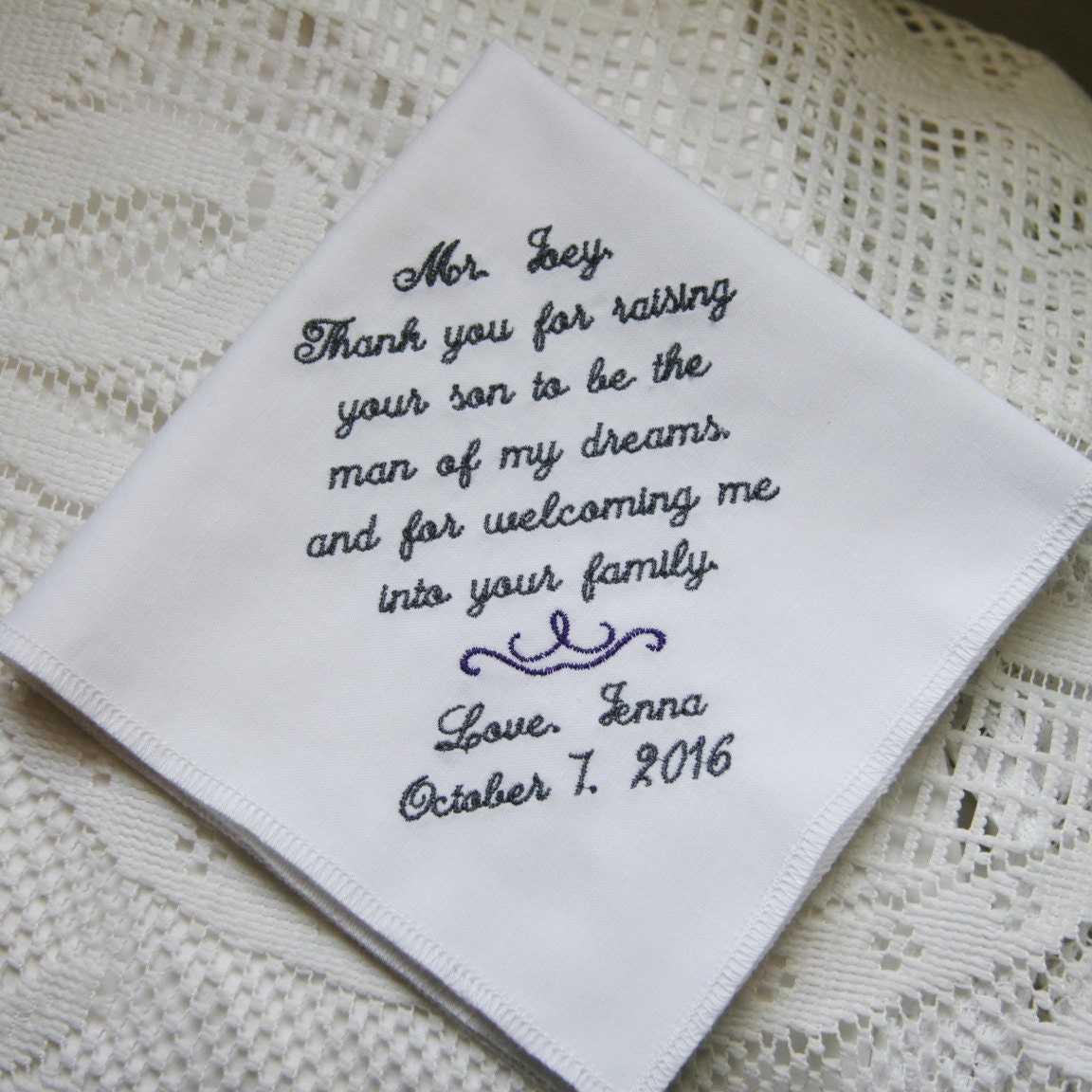 Father Of The Groom Gift From Bride By TheBrideandGroom On