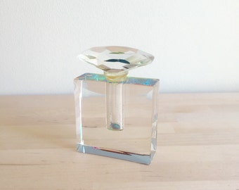 Vintage Crystal Perfume Bottle