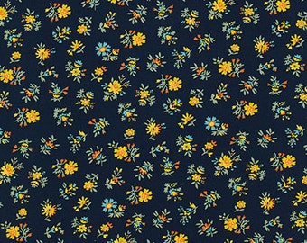 Shelburne Falls Multi Floral - Willow by Denyse Schmidt for Free Spirit Fabrics, 1/2 yard, PWDS043.Willo