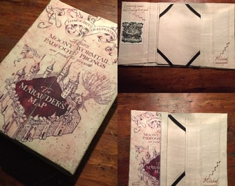 Harry Potter Marauders Map Book Cover for Kindles, iPad Mini & other 6-8 inch tablets