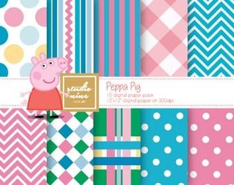 Peppa Pig Digital Paper